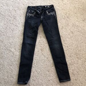 Size 27 Miss Me Skinny Jeans